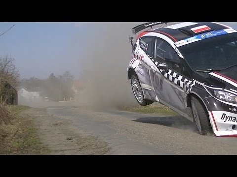 Kajetanowicz - on the limit - test - before (Circuit of Ireland Rally)