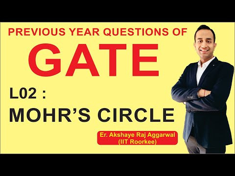 L 02 Mohr's Circle | Strength of Materials | GATE Previous Year Questions | COMPETE INDIA ZONE | CIZ