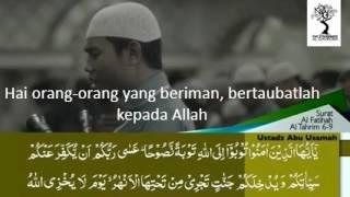 The Strangers Tilawah Ustadz Abu Usamah Lc  Surat at tahrim 6-9 (Sub Indonesia)