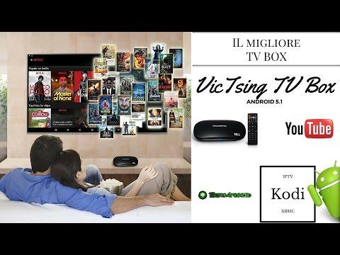 Il migliore Box TV per Kodi, XBMC e IPTV by Victsing - La recensione