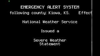 Greensburg (KS) United States  city photos : Tornado Emergency EAS: Greensburg, KS