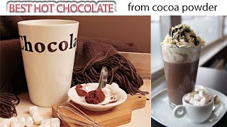 Video How to make hot chocolate with cocoa powder MP3, 3GP, MP4, WEBM, AVI, FLV Juli 2018