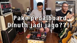 Review Pedalboard Andre Dinuth (Glenn Fredly Live at Lokananta)