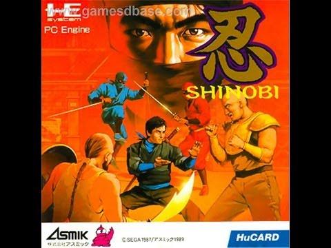 shinobi pc engine review