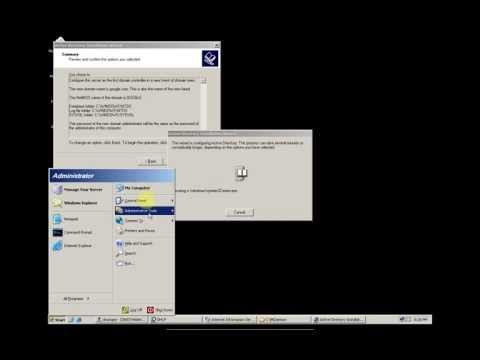 Cài đặt, cấu hình các dịch vụ của Windows Server 2003