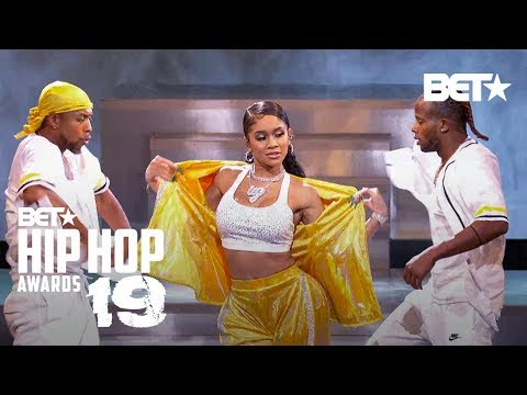 Saweetie, Petey Pablo & Lil Jon In 'My Type' & 'Freek-A-Leek' Performance! | Hip Hop Awards '19