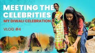 Meeting The Celebrities   My Diwali Celebration   Vlog 4   Sumakka