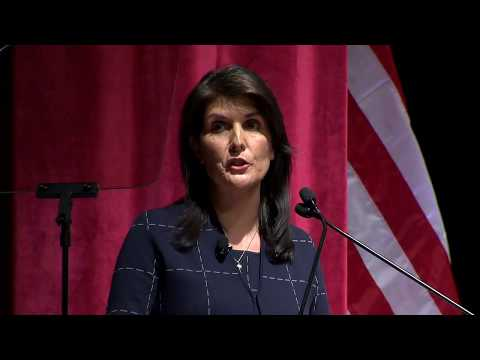 Notable Speaker: Nikki Haley