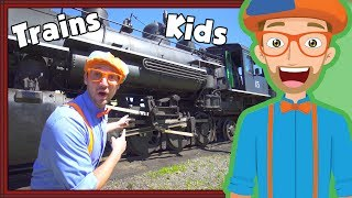 Join Blippi for a Train tour and train ride in an educational video for children. This Blippi trains for children video is great for toddlers and children that love Blippi and Trains. Blippi will show you inside the cab and all the parts of the train. Your child will also love singing the Blippi Train Song in this video. You can watch more Blippi videos at https://www.youtube.com/watch?v=cSjNd2kZW-k&list=PLzgk_uTg08P-slrhDl5tBOIrCRwmLsiDXIf your child loves trains be sure to subscribe to Blippi at https://youtube.com/Blippi?sub_confirmation=1https://youtube.com/BlippiToys?sub_confirmation=1Thanks for watching Trains for Children with Blippi  Steam Train TourHere is another Blippi train video - Blippi Train Song: https://www.youtube.com/watch?v=xzWLoGdx3DE