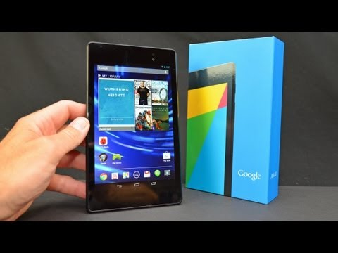 New Google Nexus 7 (2nd Generation): Unboxing & Review