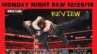 Nonton Wwe Raw 12 26 16 Review  Roman Reigns Defends The U S  Title Vs Kevin Owens  Film Subtitle Indonesia Streaming Movie Download