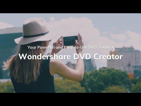 Wondershare DVD Creator - Easy and Powerful DVD Toolbox
