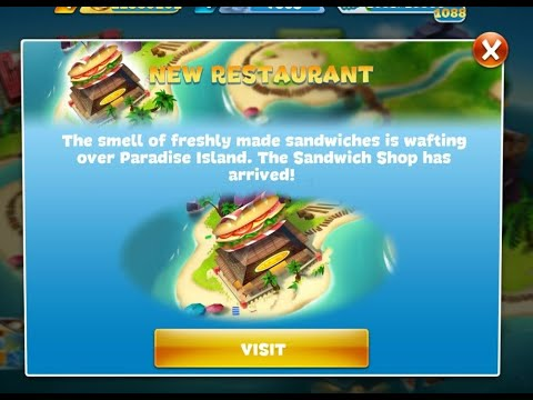 Cooking Fever Sandwich Shop Level 1-5