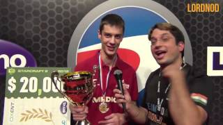 Funny interview with Mana at ESWC final victory