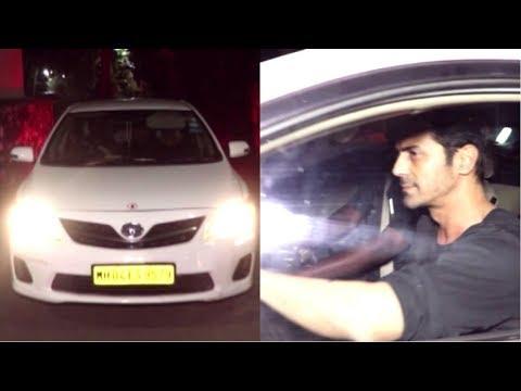 Arjun Rampal Spotted At Vikram Kapadia House