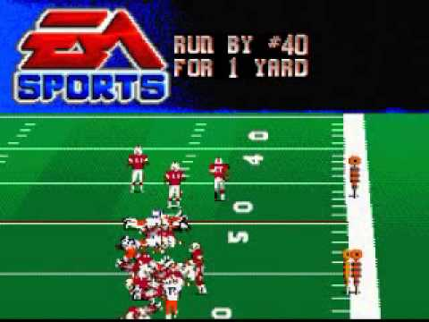 College Football USA 97 Super Nintendo