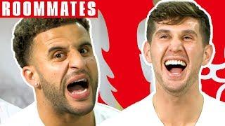 Video Walker v Stones   Walker STILL Can't Believe his FIFA 19 Stats!   Roommates   England MP3, 3GP, MP4, WEBM, AVI, FLV Januari 2019