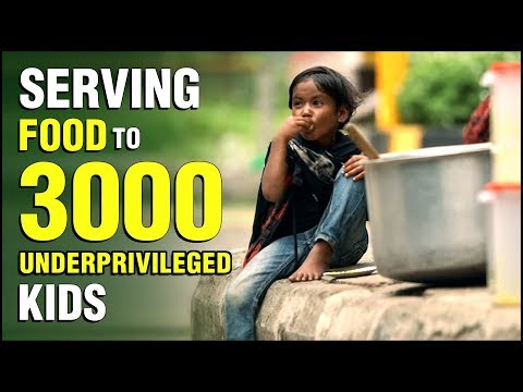 Serving Food To 3000 Underprivileged Kids ft. Robinhood Army(Mumbai) | World Food Day | Rajshri Food