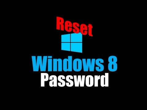 Reset Windows 8 Password