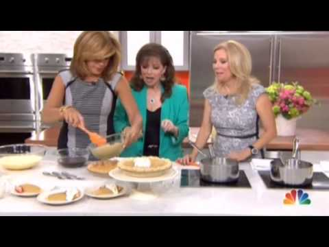 Jackie Collins cooks with KLG & Hoda - April 2014