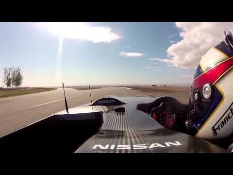 Nissan DeltaWing Racer   First Public Demonstration | Video