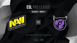 Na`Vi vs Windigo - ESL Pro League Season 9 EU - map3 - de_dust2 [PCH3LK1N & Gromjkeee]