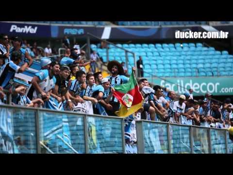 Grêmio 1 x 0 Novo Hamburgo - Gauchão 2016 - Te dou a vida / Nesta noite - Geral do Grêmio - Grêmio - Brasil - América del Sur