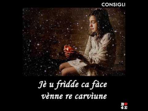 JÈ U FRÌDDE CA FÀCE VÈNNE RE CARVÌUNE