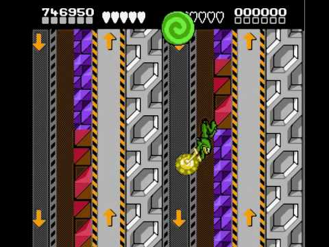 Battletoads Perfect Walkthrough Level 11 - Clinger-Winger