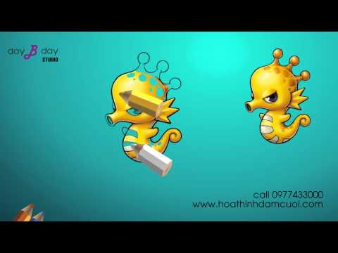 How to Draw a hippocampus ( for children )