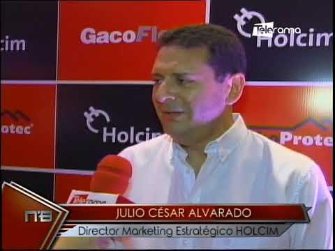 Holcim Ecuador presenta Gacoflex impermeabilizante de alta calidad