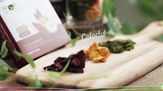 video thumbnail Natural Fermented Color Dried Pear Set(Beet, Spinach, Gardenia) youtube