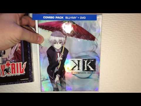 Fairy tail part 8 & K [Limited Edition] Blu-ray/DVD UNBOXING