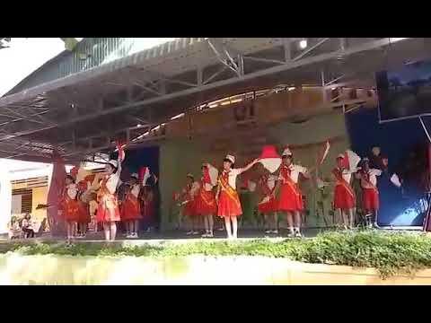 Đồng diễn Semaphore của Trường THCS Lê Hồng Phong