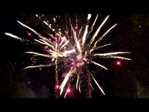 Feuerwerk zum 10 jährigen Firmenjubiläum in Wolfsburg vom 07.05.2017