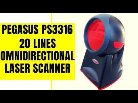 Pegasus PS3316 Omni-Directional Barcode Scanner