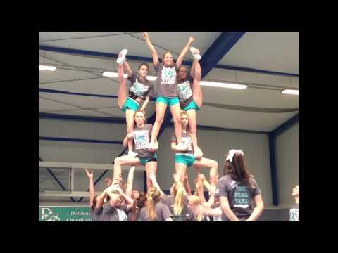 Dolphins Allstars Cheerleader Krefeld