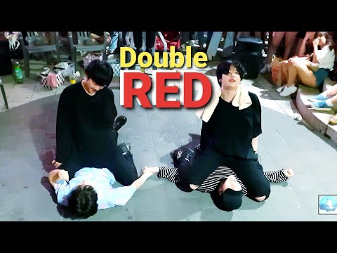 20190806_215817《HyunA_Double✌#RED》#KingdomS(킹덤즈) 현아#빨개요 HongDae(홍대) Busking #SnowHorse