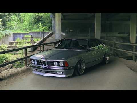 BMW 635CSI on Air Suspension - #LIFEONAIR