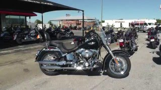 4. 036188 - 2010 Harley Davidson Softail Deluxe FLSTN - Used Motorcycle For Sale