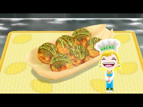 Cooking Takoyaki - Android Gameplay - Cooking Mama Let's Cook #21 - No Commentary