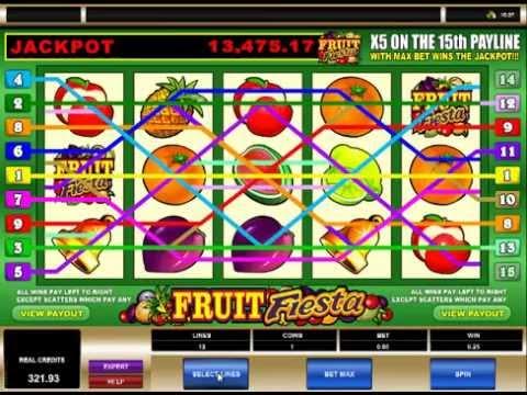 Fruit Fiesta Casino 5 Reel Jackpot 3