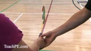 Handshake Grip - Forehand