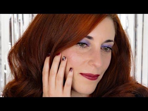0 Coiffure et maquillage, je suis prête pour les fêtes! poudre de diamant Make up for ever maquillage simple pour noël maquillage pour les fêtes maquillage noel coiffure pour les fêtes coiffure noel