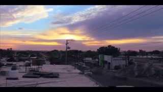 Time lapse Hermosillo Sonora, 20 Marzo 2014
