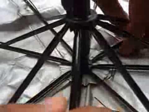 how to repair umbrella cord