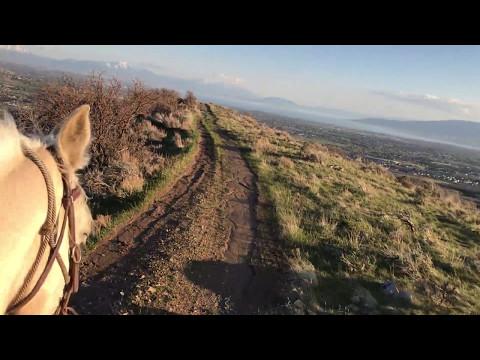 April Horse Ride in Utah
