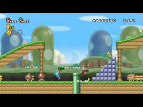 super mario bros 2 wii the next levels