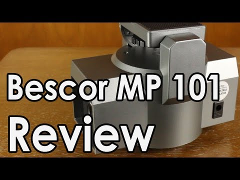 Bescor MP 101 Pan Head Review