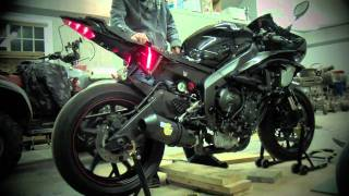 9. R6 Raven with LeoVince Install
